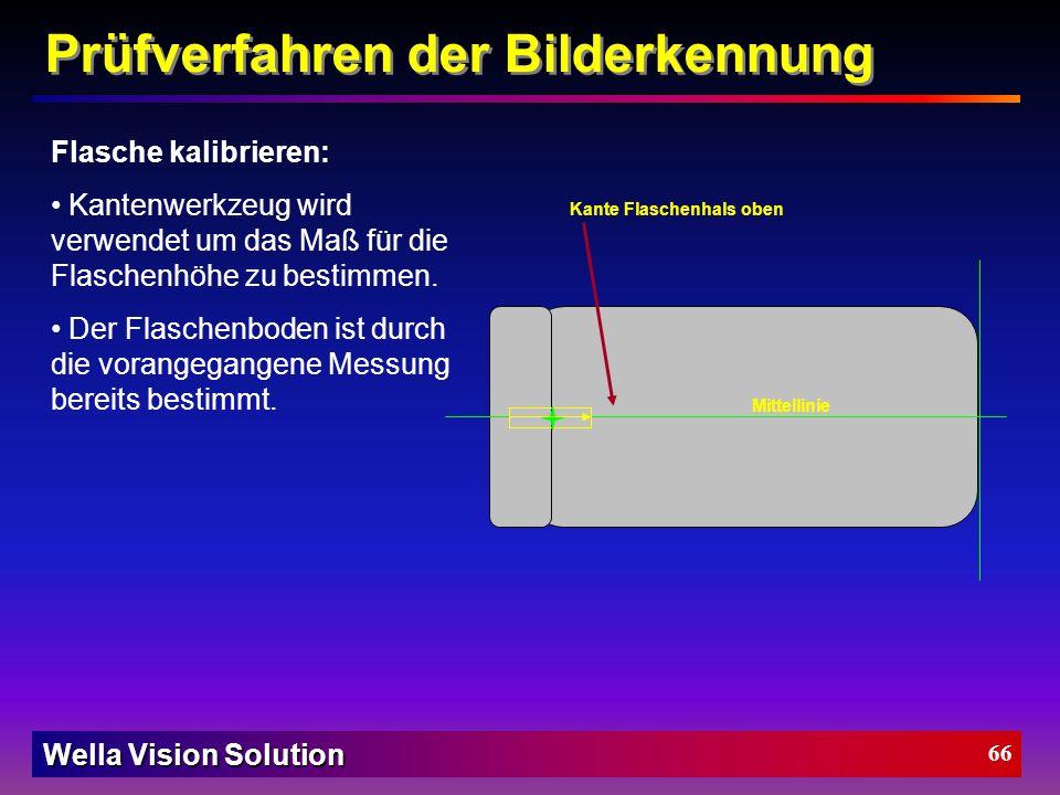 Wella Vision Solution 65 Lichtmesser-Tool Wie funktioniert das Lichtmesser-Tool: Die Standartabweichung zeigt die unterschiedliche Grauwertverteilung