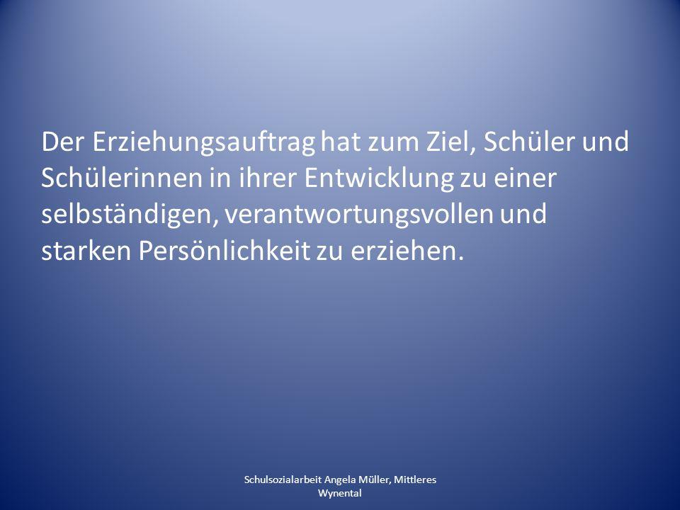 SHP SSA Sachkompetenz Sozialkompetenz Selbstkompetenz Sozialkompetenz Selbstkompetenz Sozialkompetenz Selbstkompetenz Schulsozialarbeit Angela Müller, Mittleres Wynental