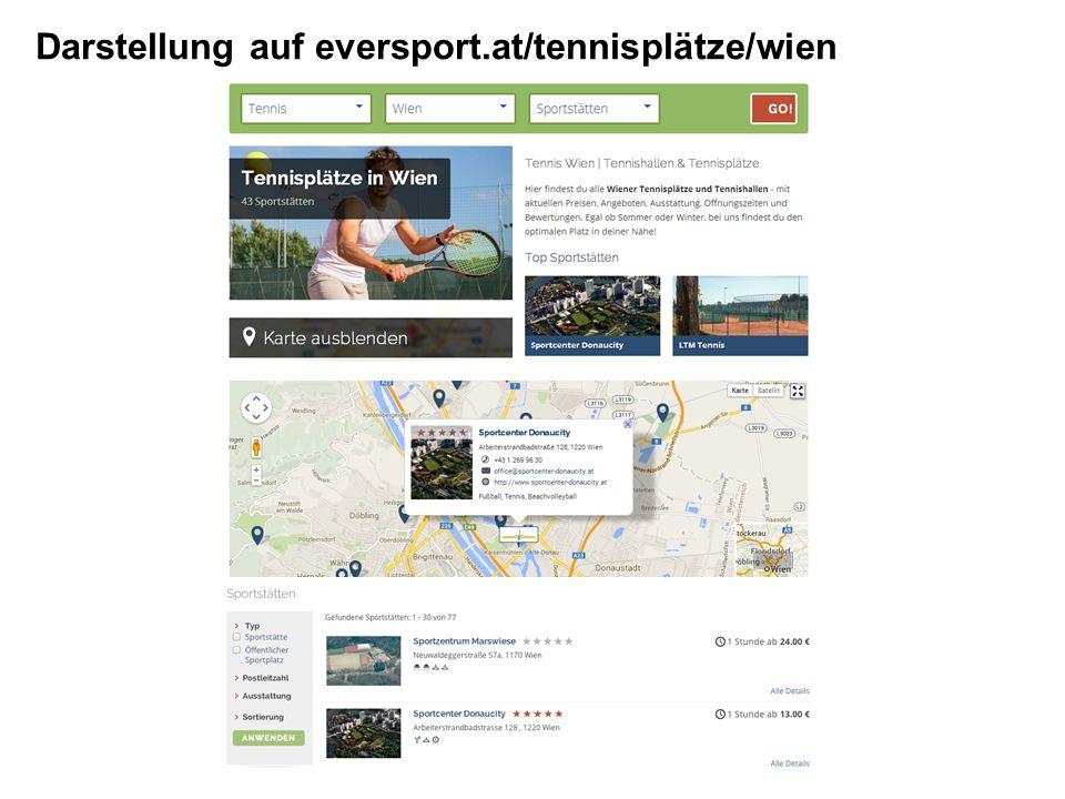 Darstellung auf eversport.at/tennisplätze/wien