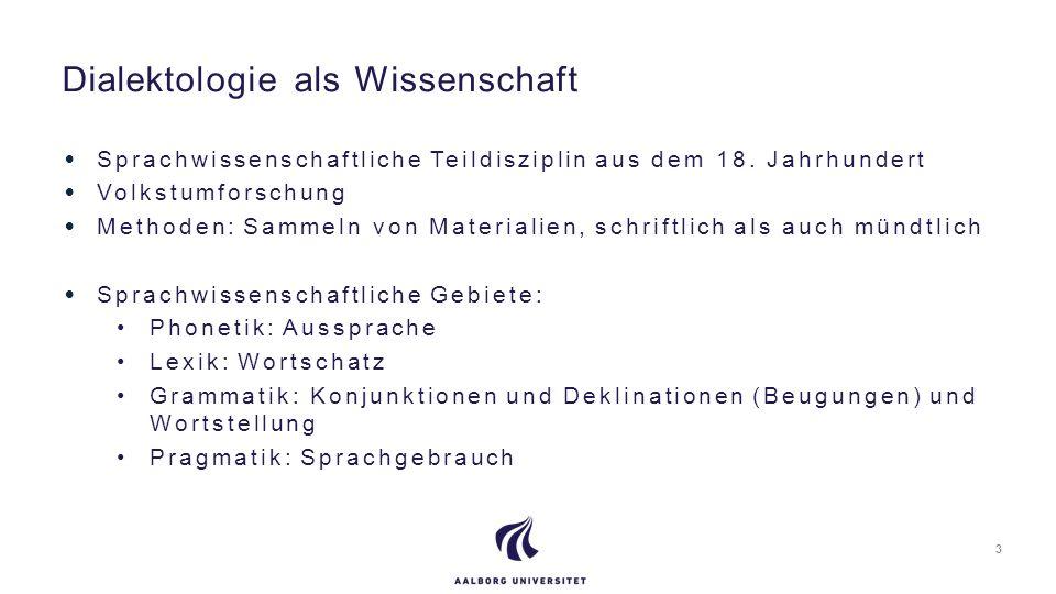 Aufteilung: Niederdeutsch Mitteldeutsch Oberdeutsch Deutsche Dialekte/Mundarten 4