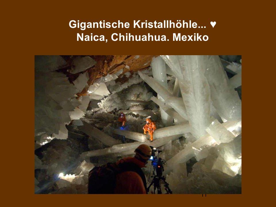 11 Gigantische Kristallhöhle... Naica, Chihuahua. Mexiko