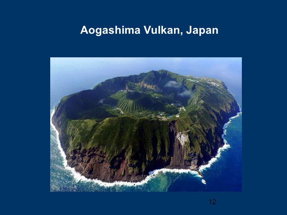 12 Aogashima Vulkan, Japan