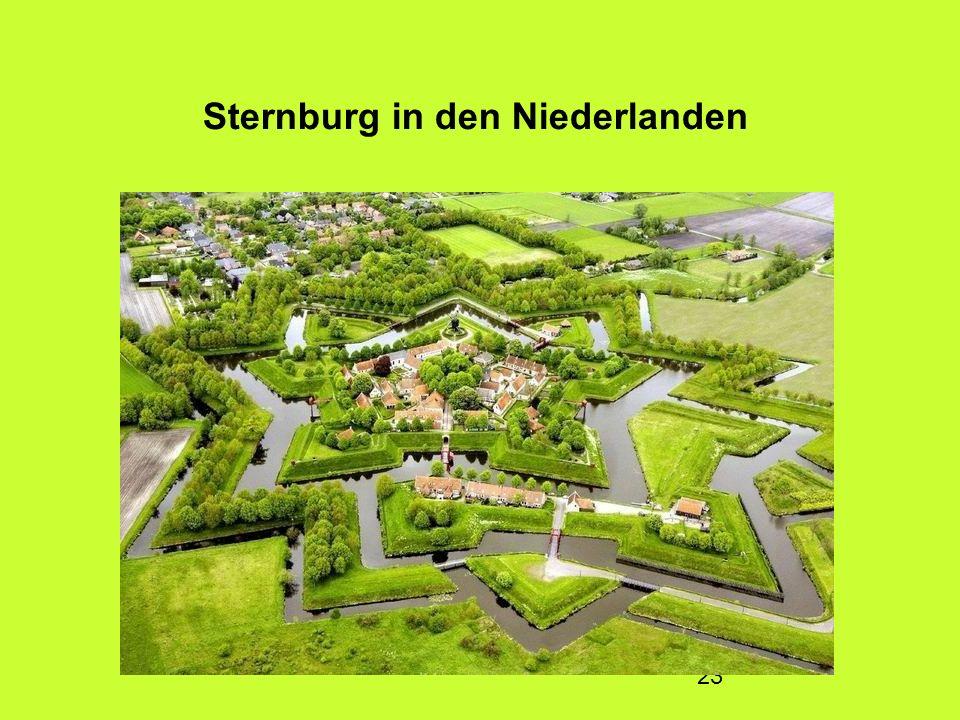 23 Sternburg in den Niederlanden