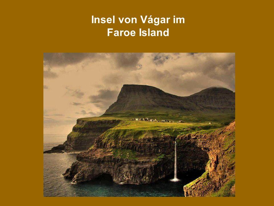 3 Insel von Vágar im Faroe Island