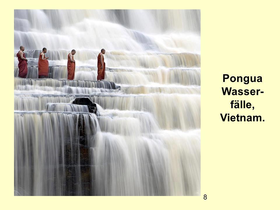 8 Pongua Wasser- fälle, Vietnam.