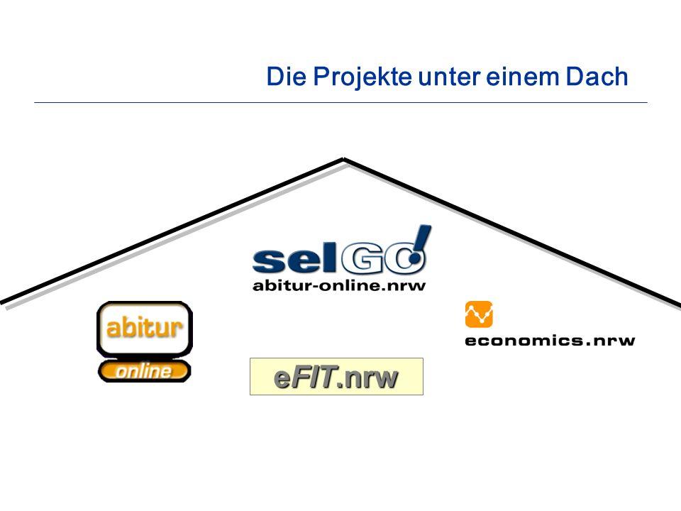 Die Projekte unter einem Dach eFIT.nrw