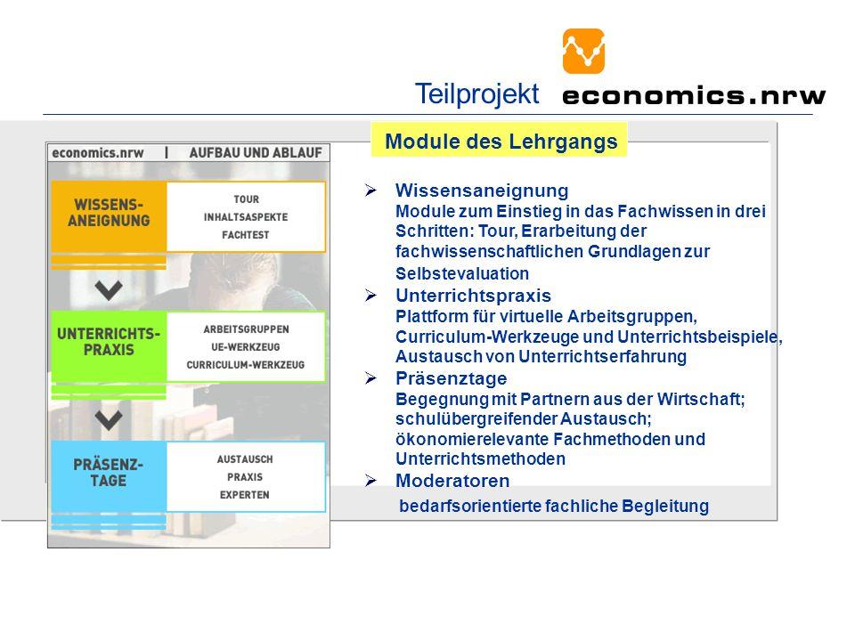 Wissensaneignung Module zum Einstieg in das Fachwissen in drei Schritten: Tour, Erarbeitung der fachwissenschaftlichen Grundlagen zur Selbstevaluation