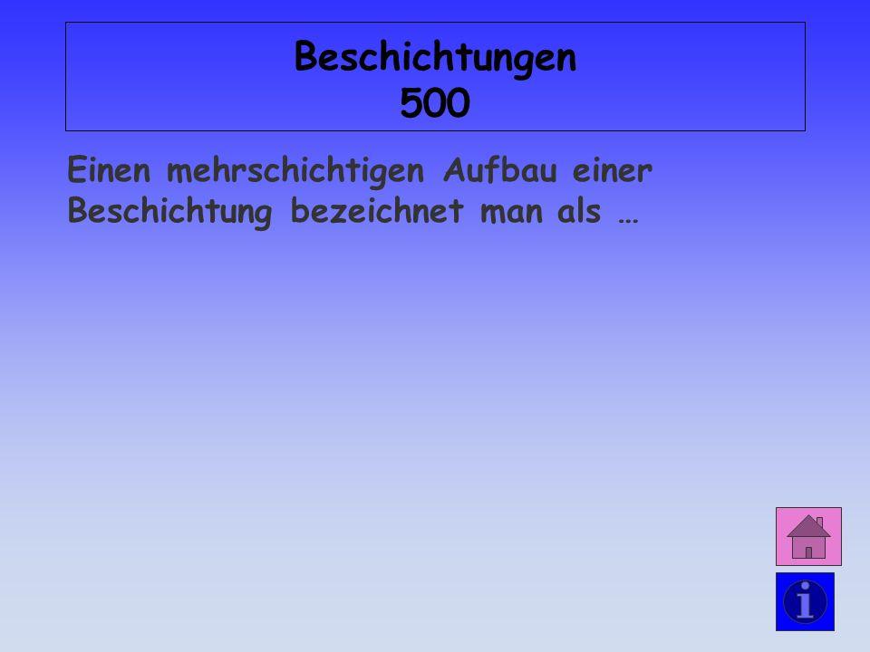 Antwort: Beschichtungen 400 … Beschichtungsfilm