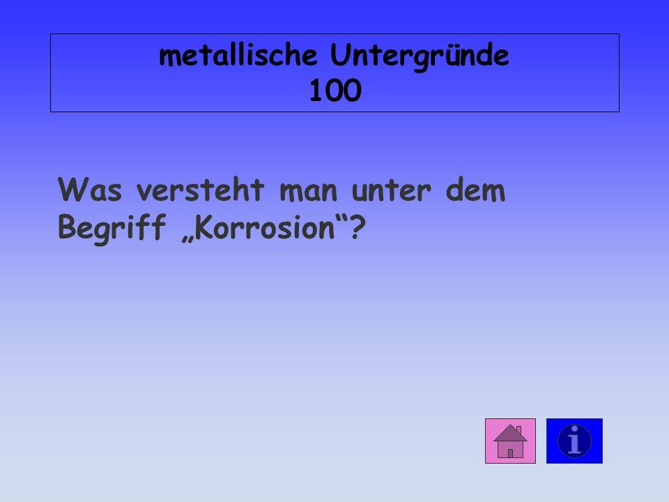 Antwort: Mineralische Untergründe 500 Der Stahl dehnt sich aus.