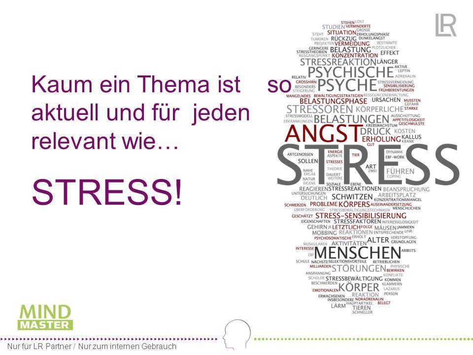 Kaum ein Thema ist so aktuell und für jeden relevant wie… STRESS.
