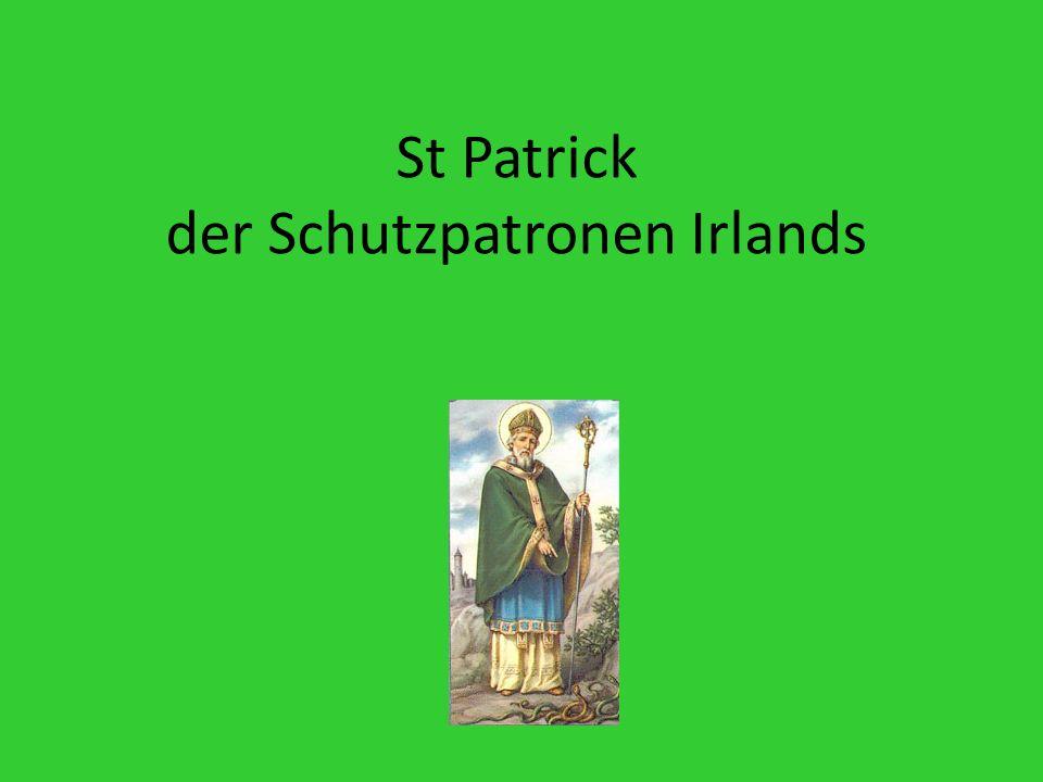 St Patrick der Schutzpatronen Irlands