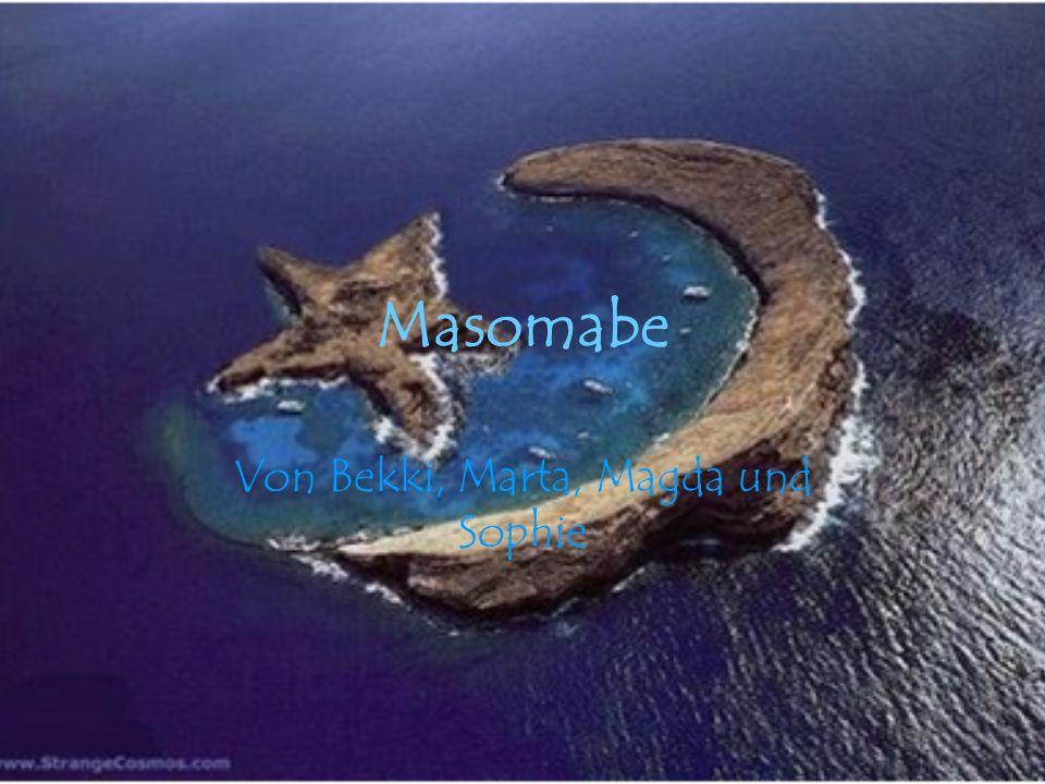 Lage Masomabe ist eine Africanische Insel, in der Naehe der Insel Madagaskar und östlich von Afrika.