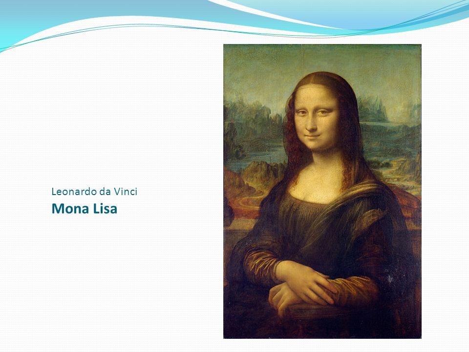Leonardo da Vinci Mona Lisa