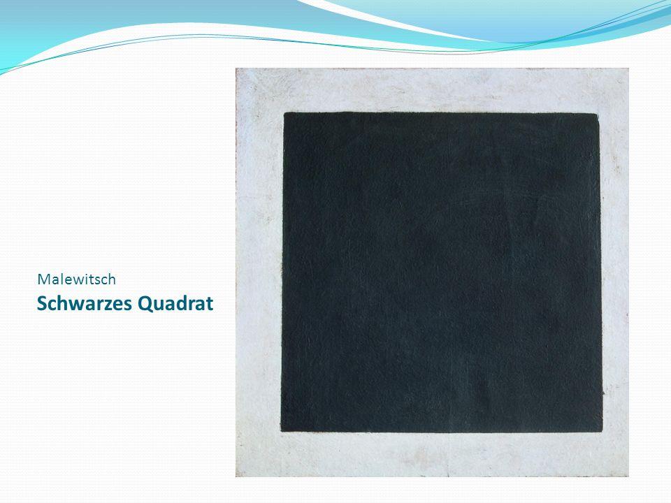 Malewitsch Schwarzes Quadrat