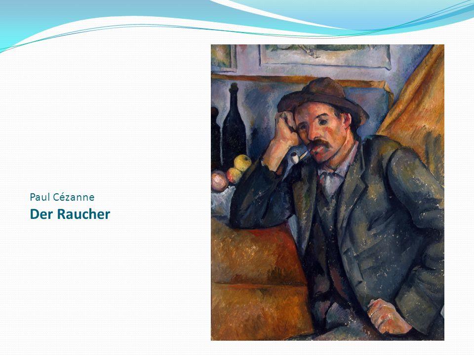 Paul Cézanne Der Raucher