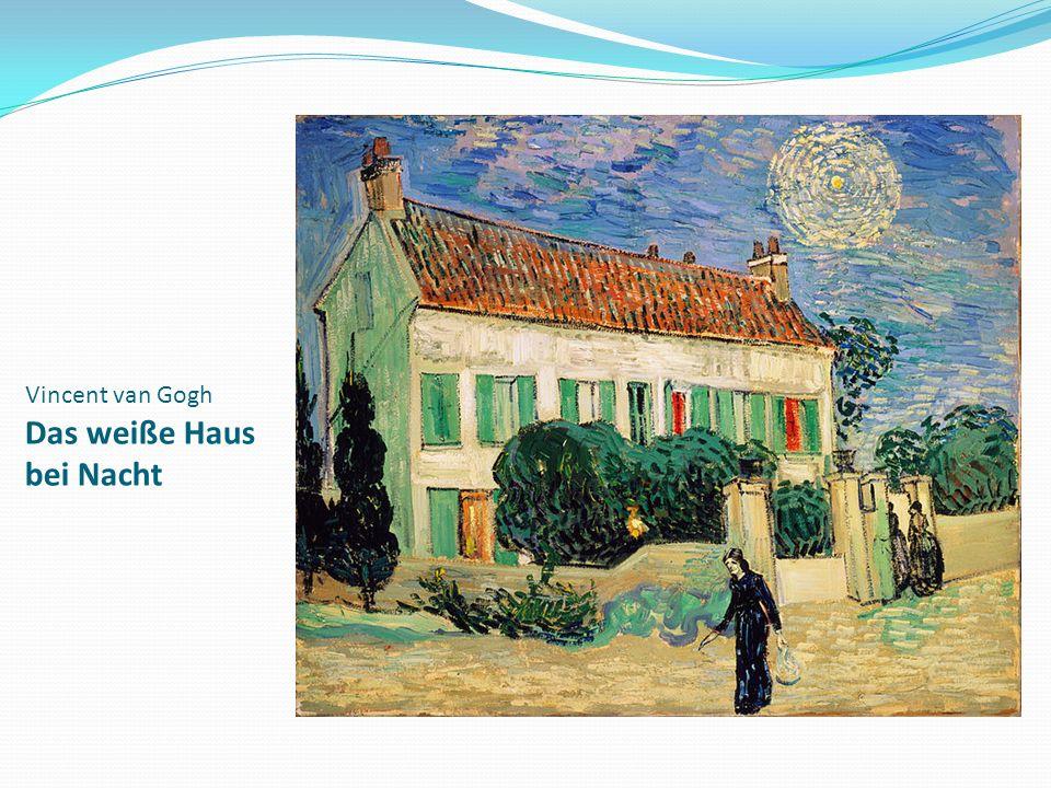 Vincent van Gogh Das weiße Haus bei Nacht