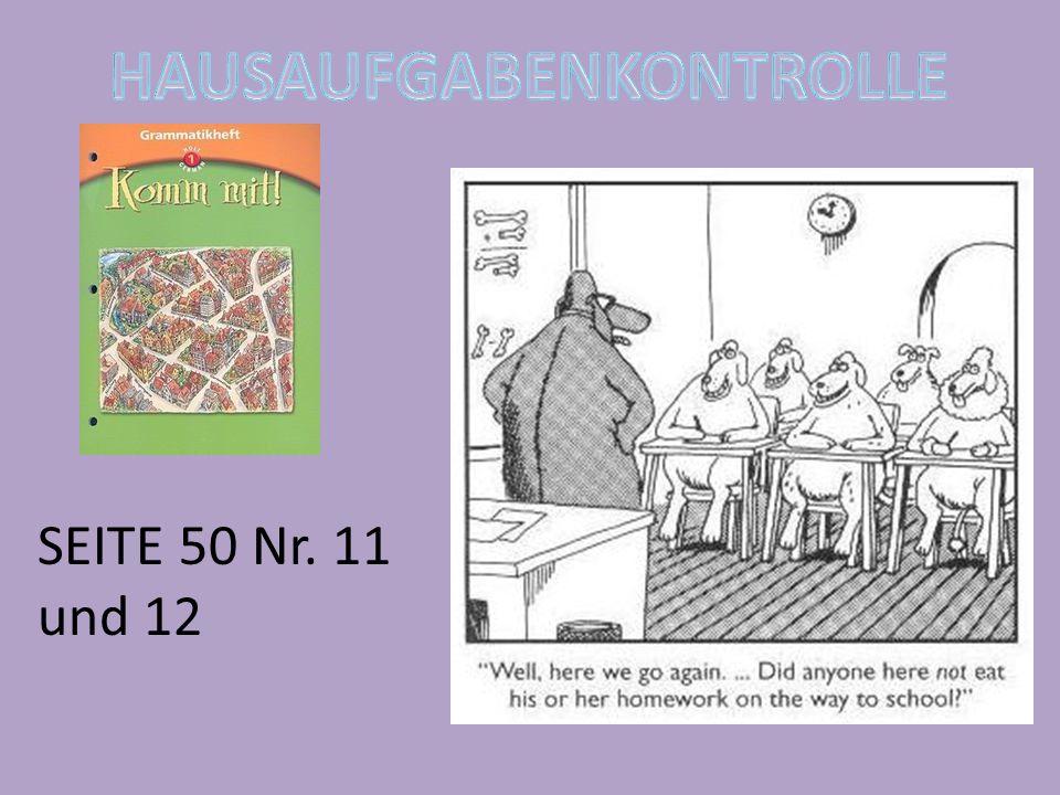 SEITE 50 Nr. 11 und 12