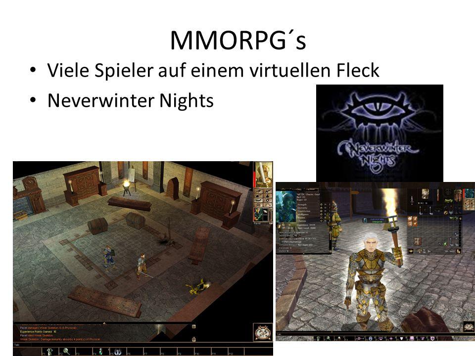 MMORPG´s Viele Spieler auf einem virtuellen Fleck Neverwinter Nights