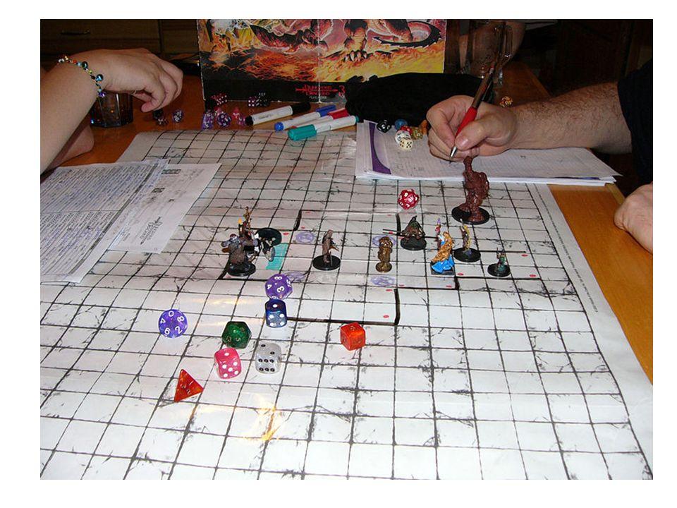 Computer-Rollenspiele (RPG) Pen-&-Paper RPG VS. Computer RPG Spielleiter und Interaktionen.
