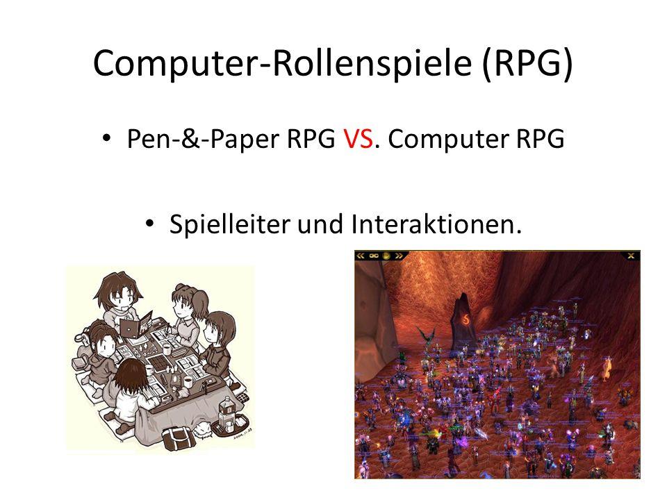 Soziale Aktivitäten in MMORPGs Ca.