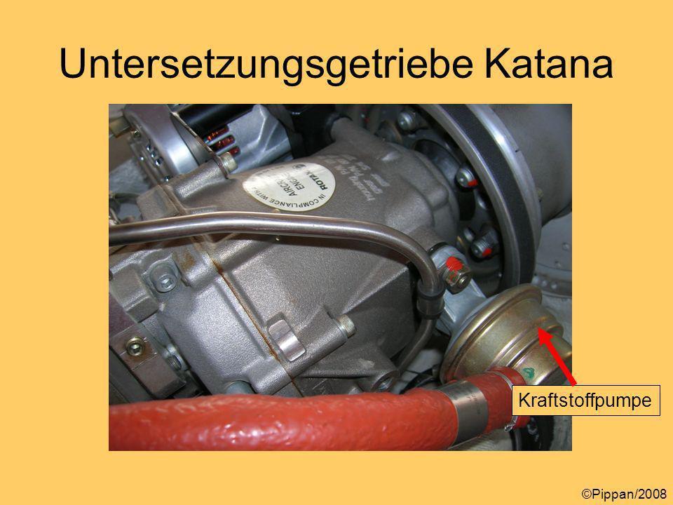 Untersetzungsgetriebe Katana ©Pippan/2008 Kraftstoffpumpe