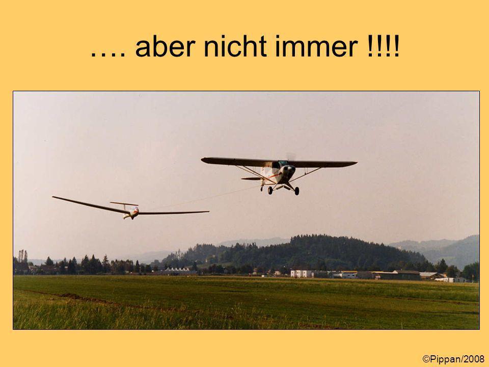 Steigfluggeschwindigkeiten Vx Vy ©Pippan/2008 Vx zum Überfliegen von Hindernissen Soll so kurz als möglich verwendet werden, da die max.