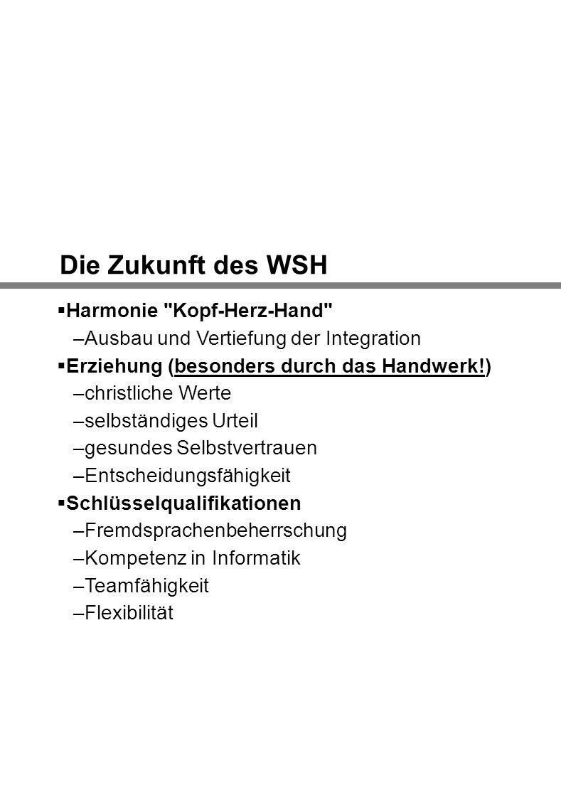 Die Zukunft des WSH Harmonie
