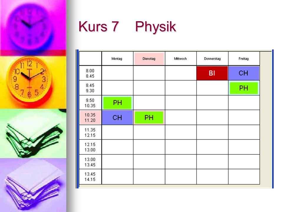 Kurs 7 Physik