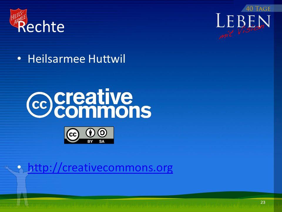 Rechte Heilsarmee Huttwil http://creativecommons.org 23