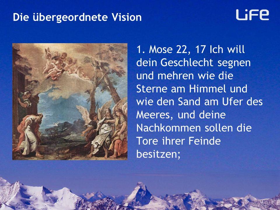 Geistliche Nachkommen zahlreich die Sterne am Himmel und der Sand am Meer! Die übergeordnete Vision