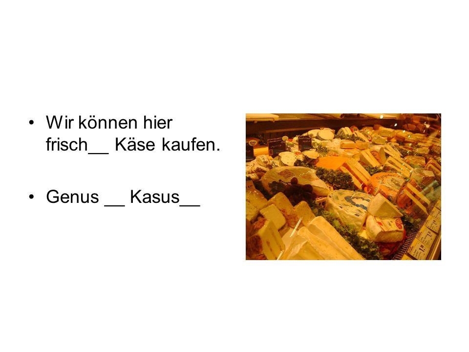 Mein__ best__ Freund heißt Ben. Genus __ Kasus__