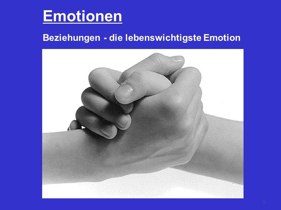62 Emotionen Beziehungen - die lebenswichtigste Emotion