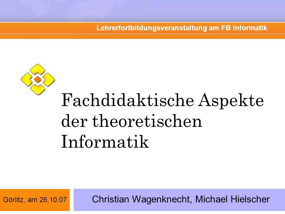 Was haben wir heute vor.Informatiklehrpläne in D und Beispiel: Hessen Sächs.