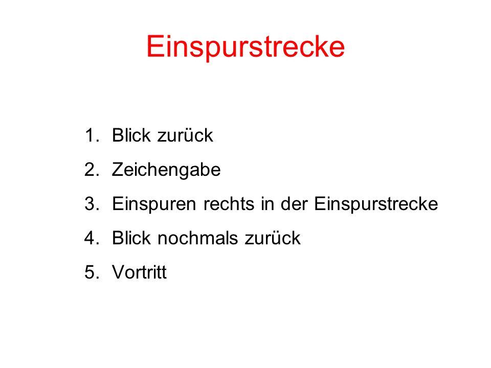 Radtest Schwyz / Posten 5 Sonnenplätzli Fahrspurwechsel nach links Blickkontakt / Zeichengabe / Einspuren / Vortritt Achtung!.