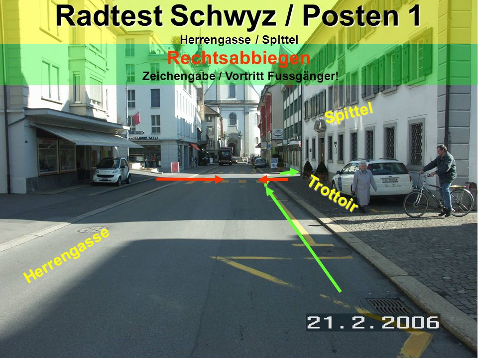 Kreisel 1.Blick zurück (Leichtes Armzeichen ist erlaubt) 2.gegen die Mitte meiner Fahrspur 3.Vortritt 4.In der Mitte des Kreisels fahren 5.vor der Ausfahrt Handzeichen