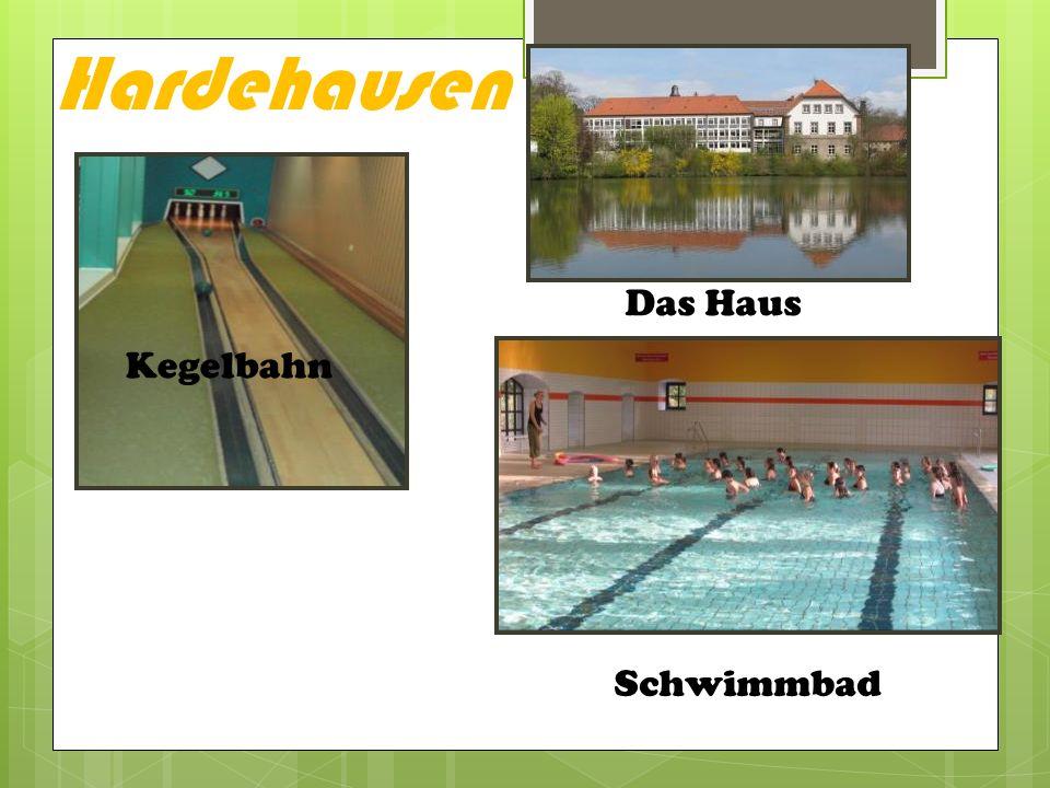 Hardehausen Kegelbahn Schwimmbad Das Haus