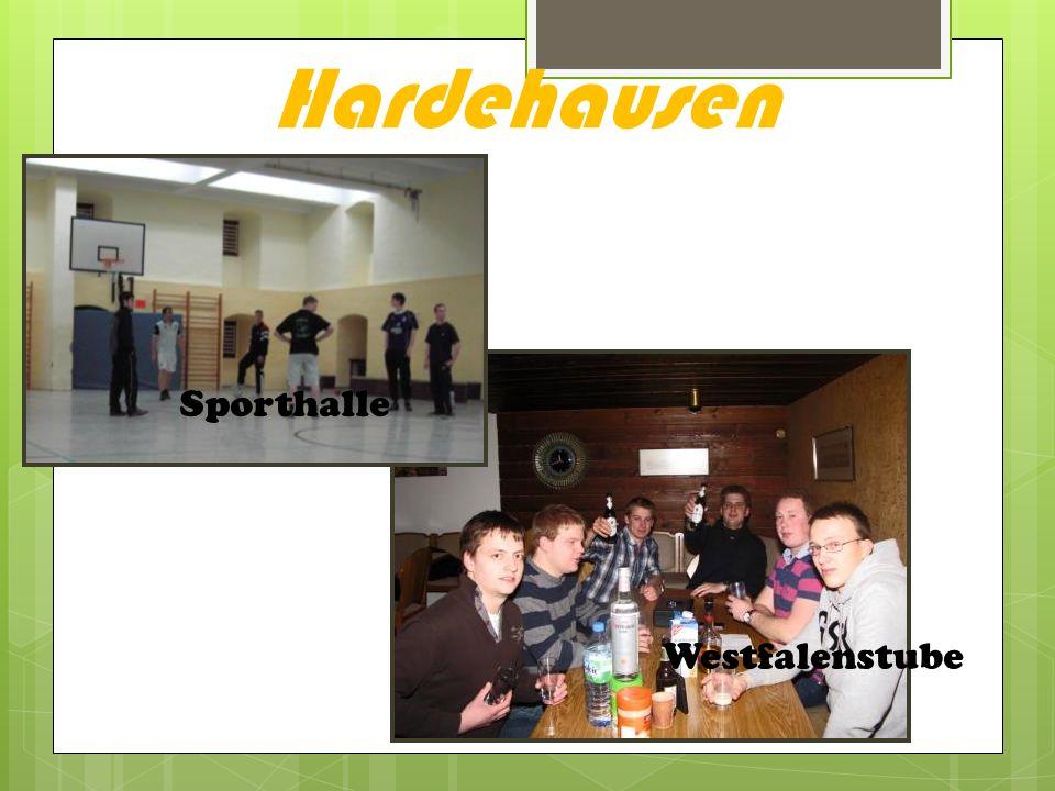 Hardehausen Sporthalle Westfalenstube