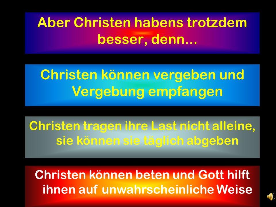 Geht es Christen in der Erziehung besser. Christeneltern haben es nicht leichter.