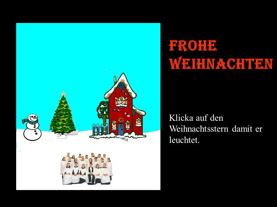 Eine richtig schöne Weihnachtskarte