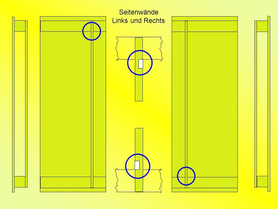 Seitenwände Links und Rechts