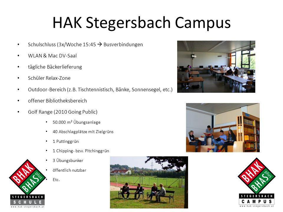 Schulschluss (3x/Woche 15:45 Busverbindungen WLAN & Mac DV-Saal tägliche Bäckerlieferung Schüler Relax-Zone Outdoor-Bereich (z.B.