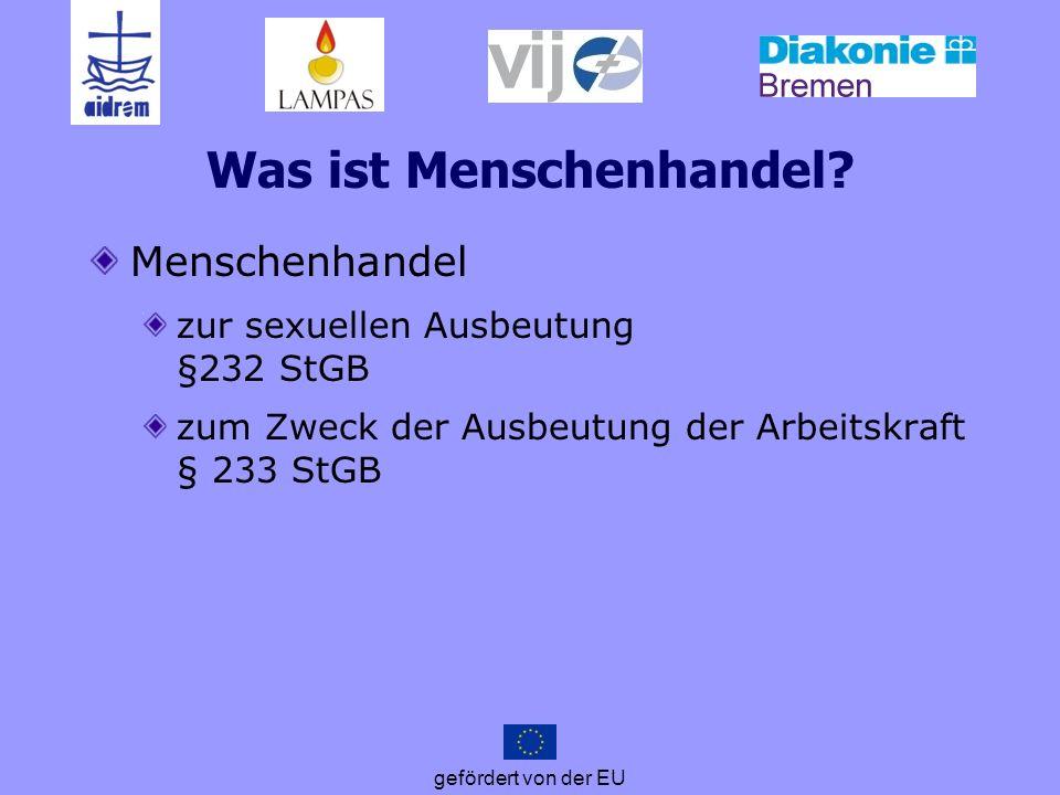 gefördert von der EU Def.