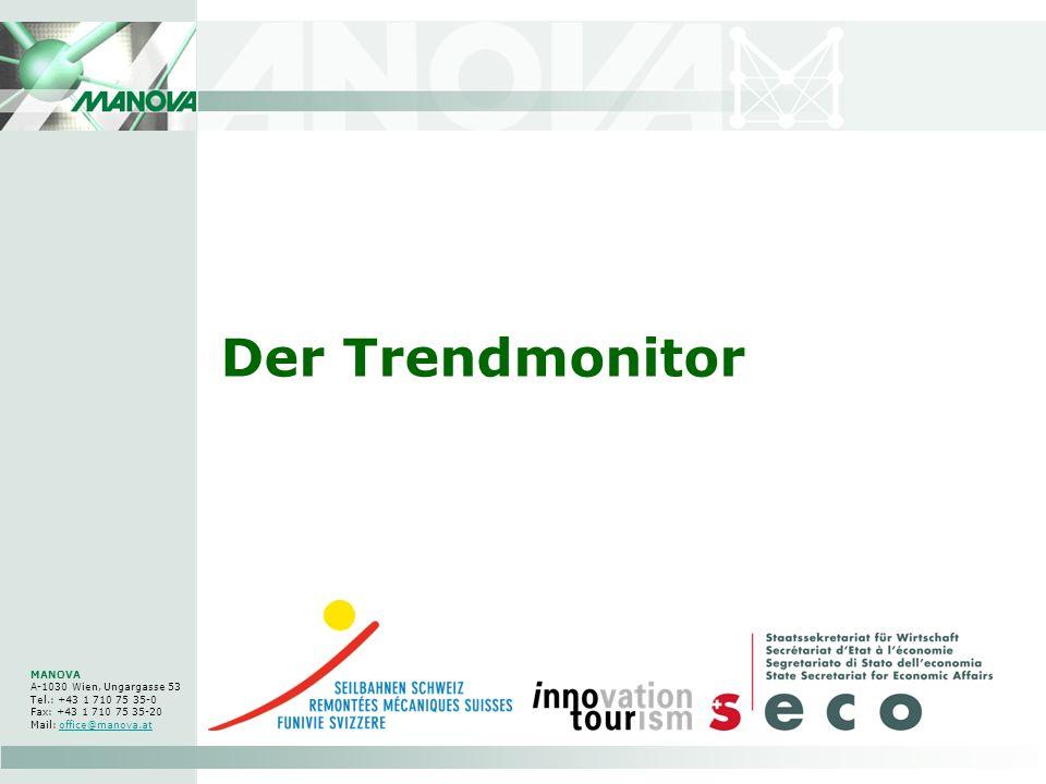 Der Trendmonitor MANOVA A-1030 Wien, Ungargasse 53 Tel.: +43 1 710 75 35-0 Fax: +43 1 710 75 35-20 Mail: office@manova.atoffice@manova.at