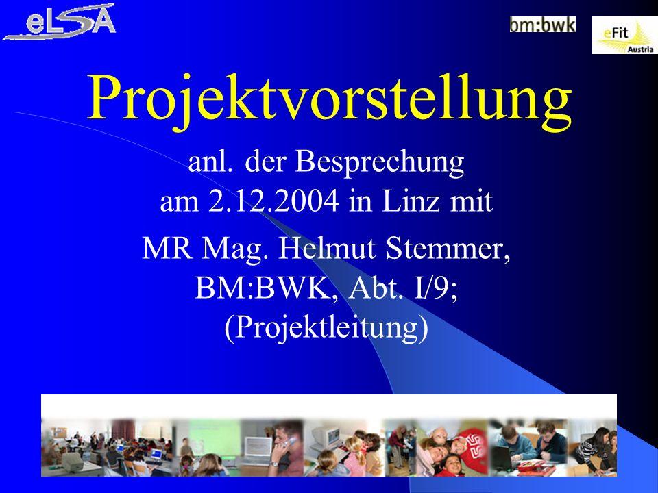 17.05.2014Mag.Karin SchachnerFolie 3 Was ist eLSA.