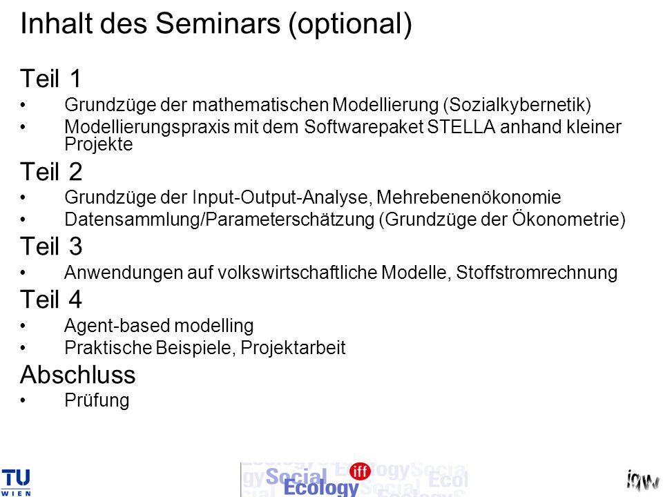 Ökonometrische Verfahren: linear y = alfa + beta.x Exkurs: Parameterschätzung x y alfa beta = tan( )