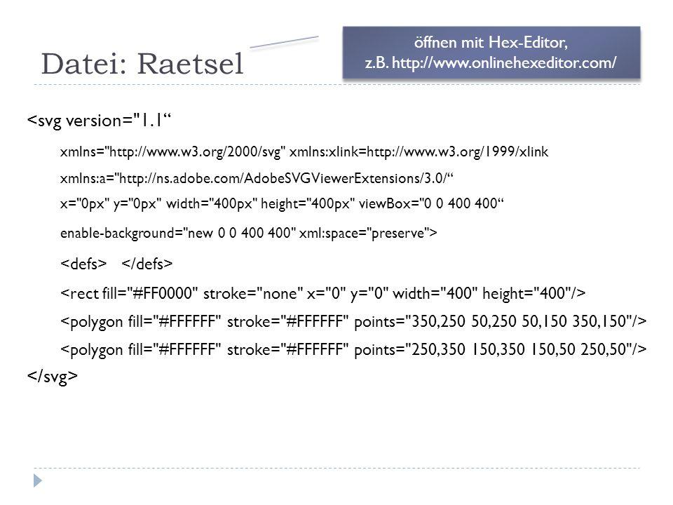 Datei: Raetsel <svg version=