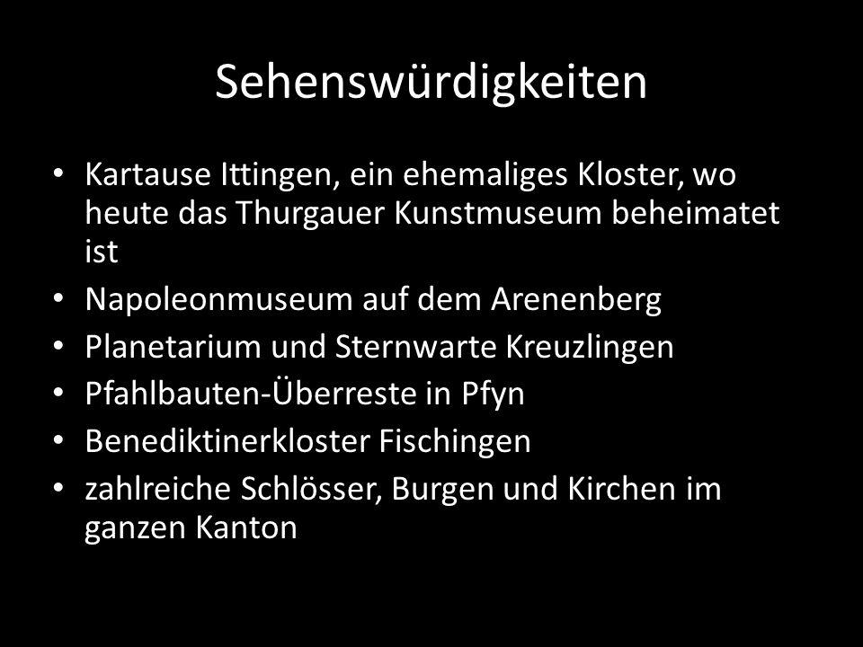 Mostindien Der Kanton Thurgau wird volkstümlich auch «Mostindien» genannt.