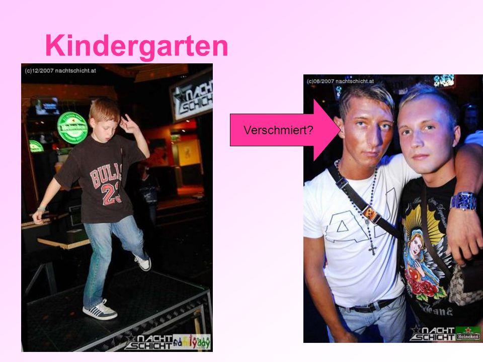Kindergarten Verschmiert?