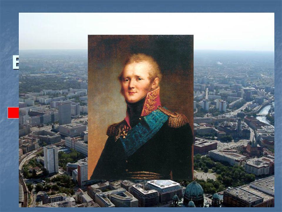 Der Alexanderplatz in Berlin trägt den Namen des russischen Zaren …. a) Alexander des Ersten, b) Alexander des Zweiten, c) Alexander des Dritten