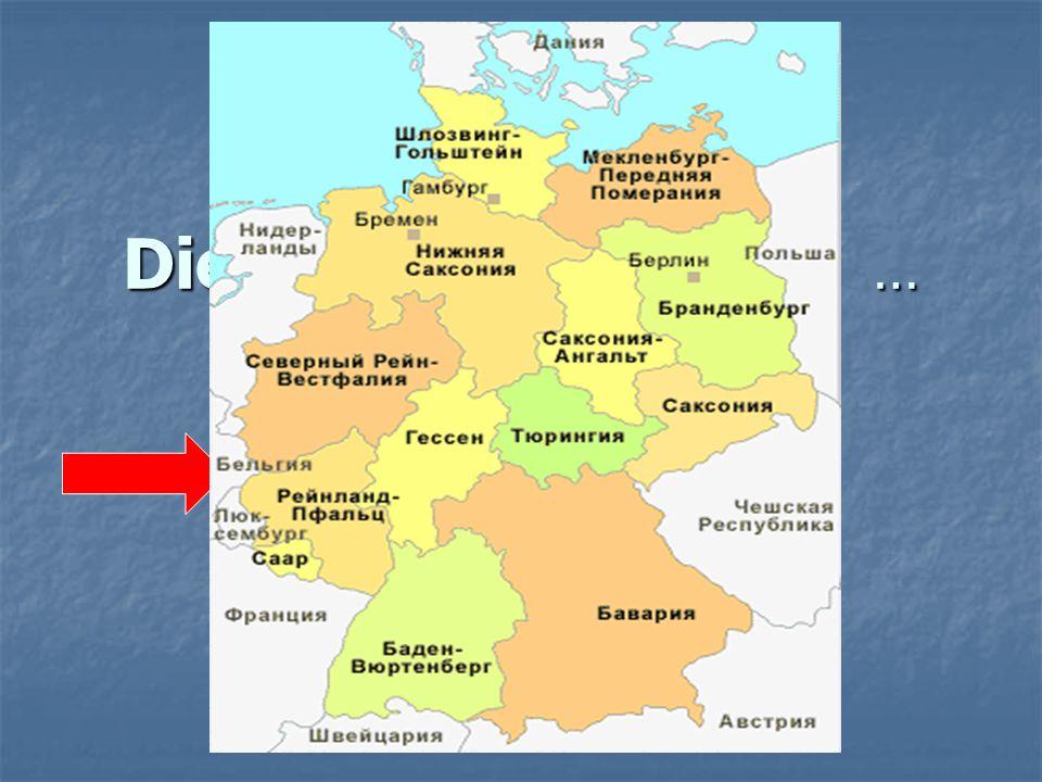 Die BRD besteht aus … a) 9 Bundesländern, b) 16 Bundesländern, c) 18 Bundesländern